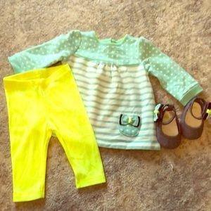 NWOT Gymboree marching outfit and shoes
